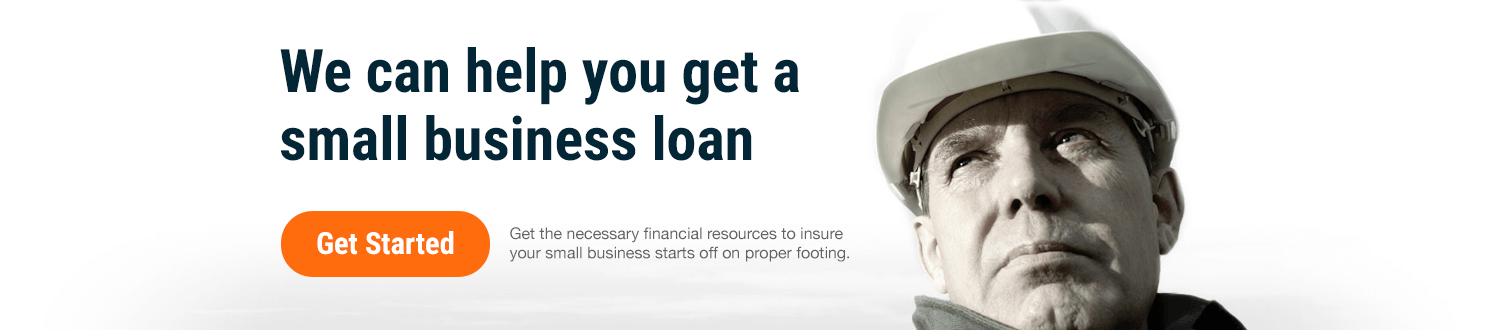 We can help you get a small business loan. Get started.