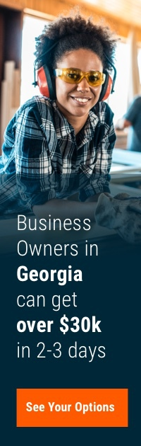 Business owners in Georgia can get over $30k in 2-3 days. See your options.
